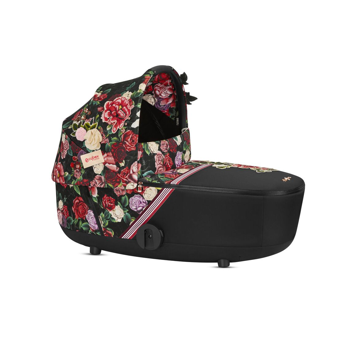 CYBEX Mios Lux Carry Cot - Spring Blossom Dark in Spring Blossom Dark large image number 1