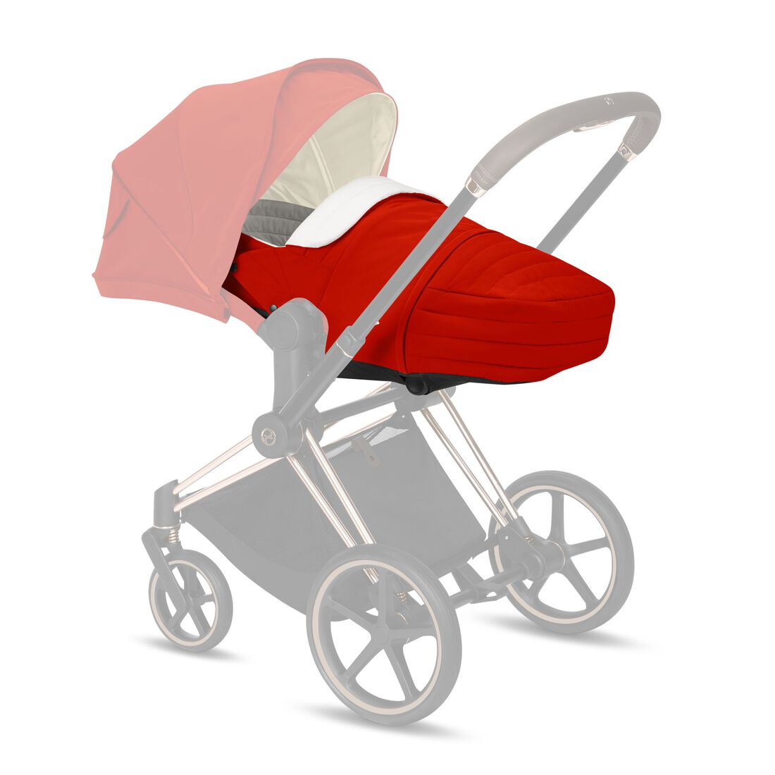 CYBEX Lite Cot - Autumn Gold in Autumn Gold large image number 1