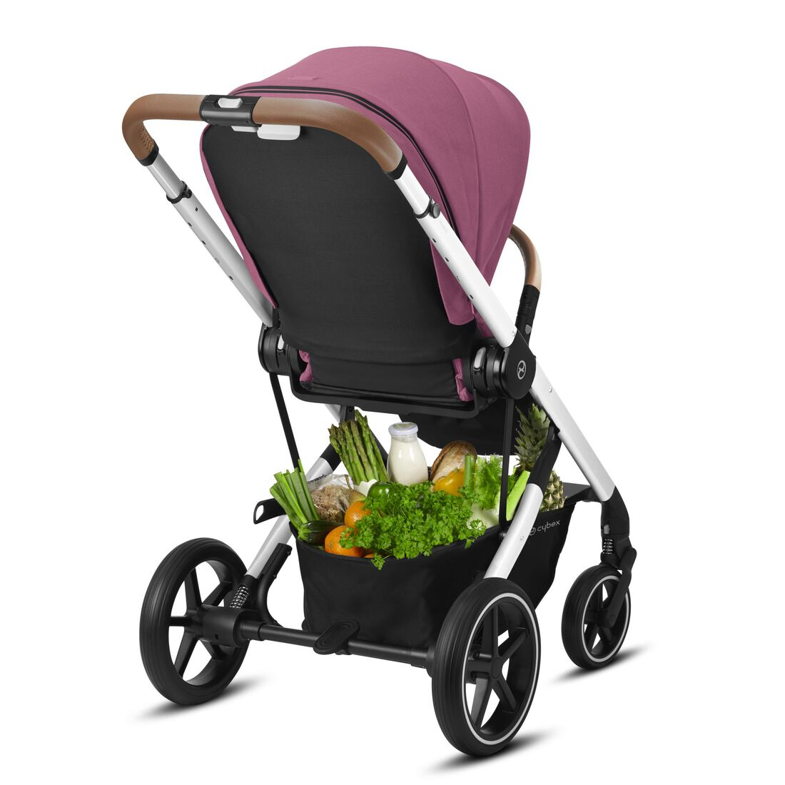CYBEX Balios S Lux - Magnolia Pink (Silver Frame) in Magnolia Pink (Silver Frame) large image number 6