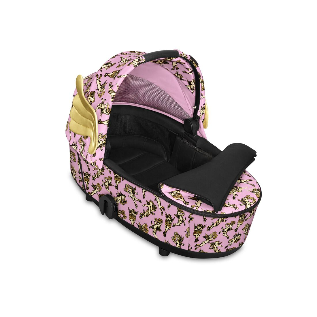 CYBEX Mios Lux Carry Cot - Cherubs Pink in Cherubs Pink large Bild 2