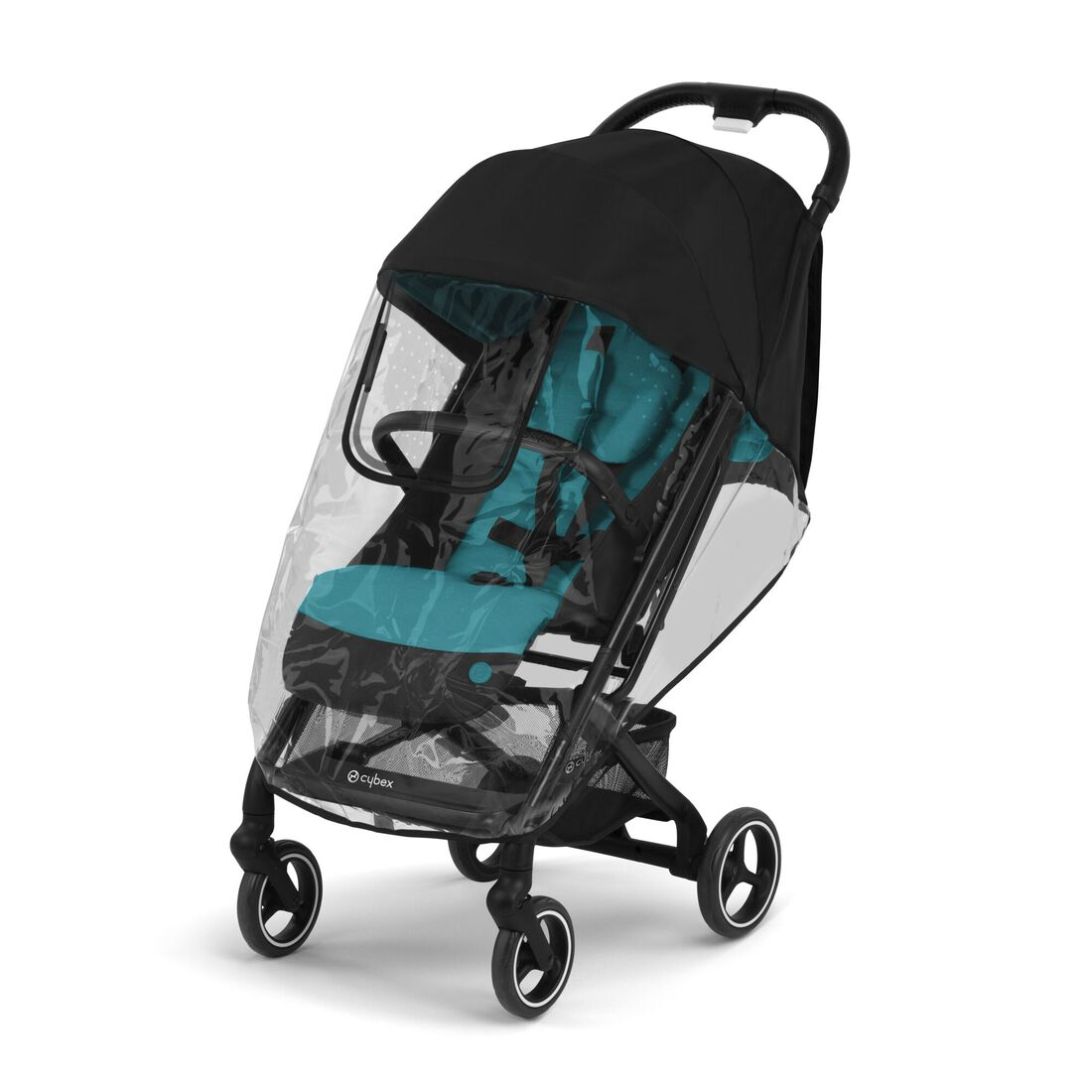 CYBEX Rain Cover Beezy - Transparent in Transparent large image number 1