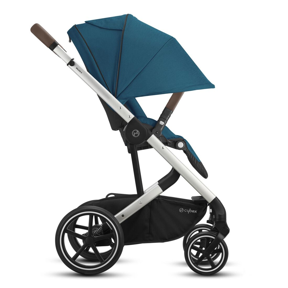 CYBEX Balios S Lux - River Blue (Silver Frame) in River Blue (Silver Frame) large image number 5