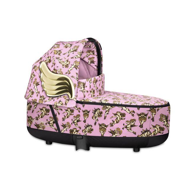Priam Lux Carry Cot - Cherubs Pink