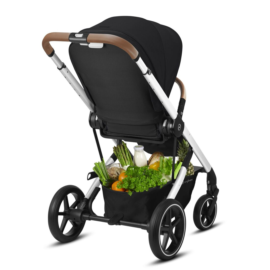 CYBEX Balios S Lux - Deep Black (Silver Frame) in Deep Black (Silver Frame) large image number 6