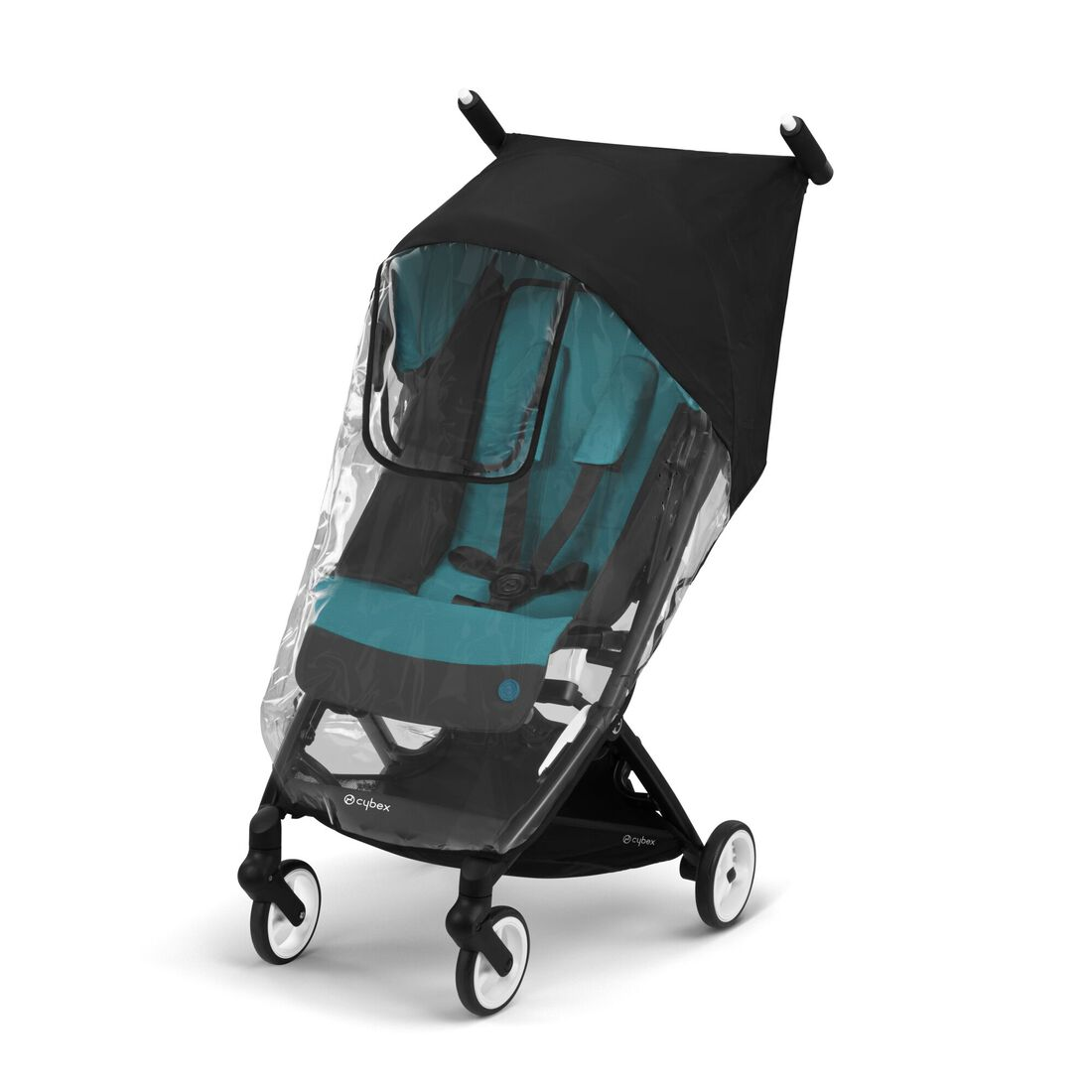 CYBEX Rain Cover Libelle - Transparent in Transparent large image number 1