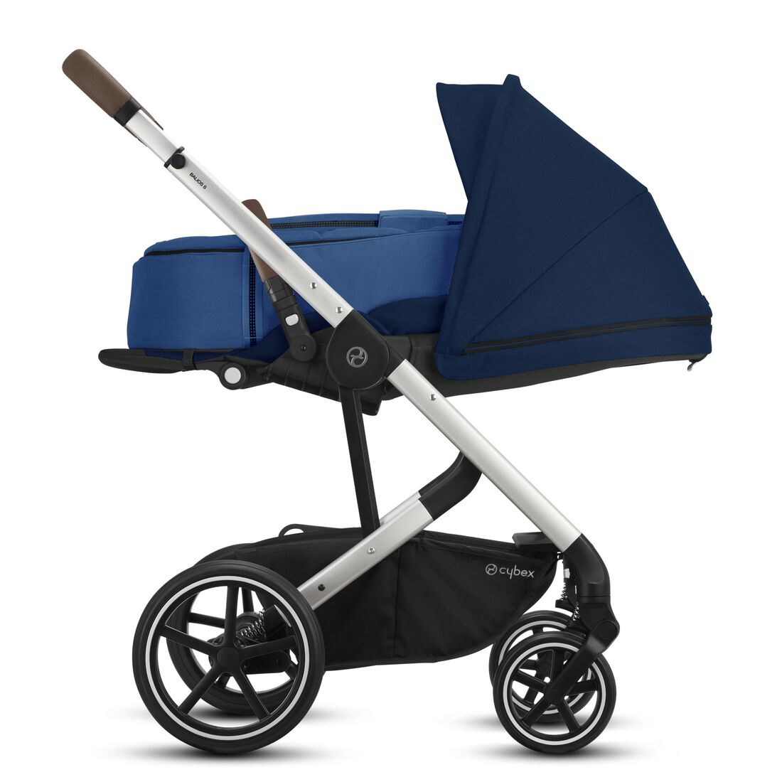 CYBEX Balios S Lux - Navy Blue (Silver Frame) in Navy Blue (Silver Frame) large image number 4