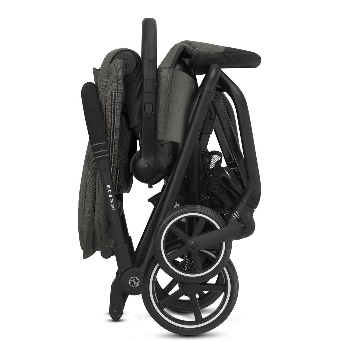 CYBEX Eezy S Twist+2 - Soho Grey (Black Frame) in Soho Grey (Black Frame) large image number 4