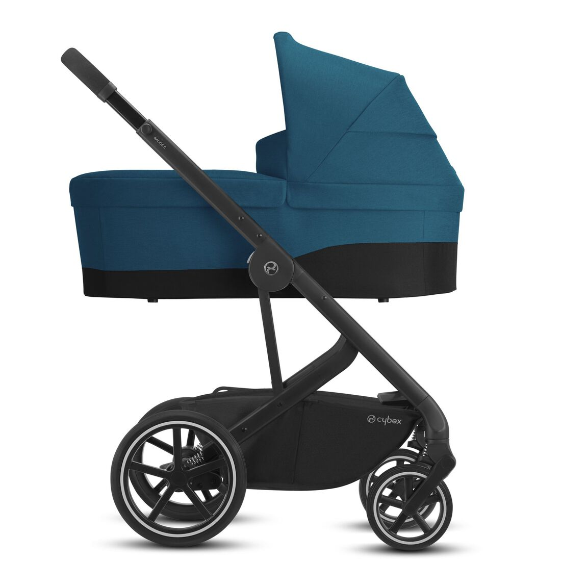 CYBEX Balios S Lux - River Blue (Black Frame) in River Blue (Black Frame) large image number 2