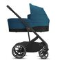 CYBEX Balios S Lux - River Blue (Black Frame) in River Blue (Black Frame) large image number 2 Small
