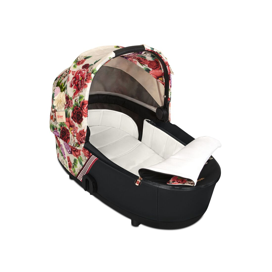 CYBEX Mios Lux Carry Cot - Spring Blossom Light in Spring Blossom Light large image number 2
