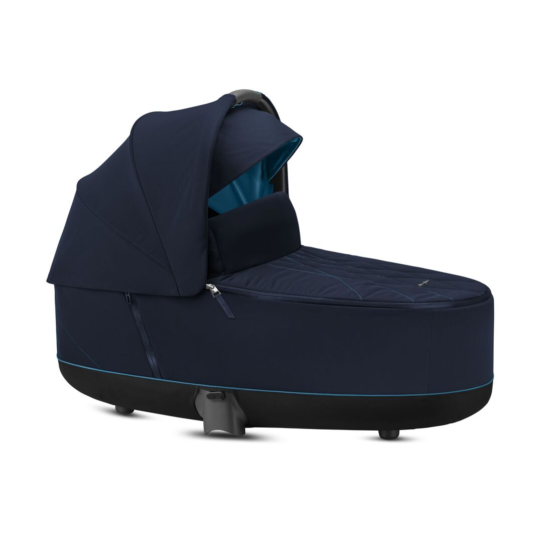 CYBEX Priam Lux Carry Cot - Nautical Blue in Nautical Blue large image number 2
