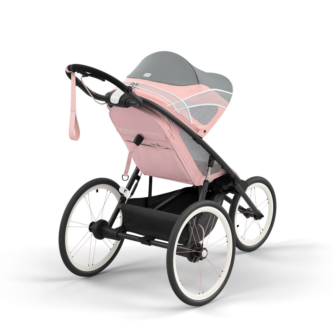 CYBEX Avi Frame - Black With Pink Details in Black With Pink Details large image number 5