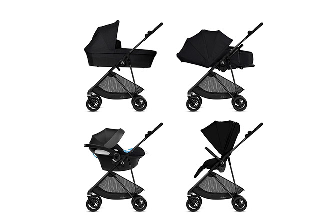 Melio Carbon 4-in-1 Travel System
