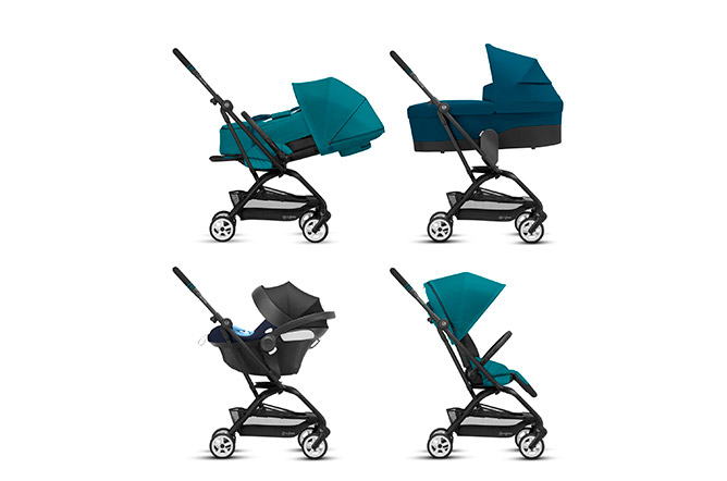Eezy S Twist 2 4-in-1 Travel System