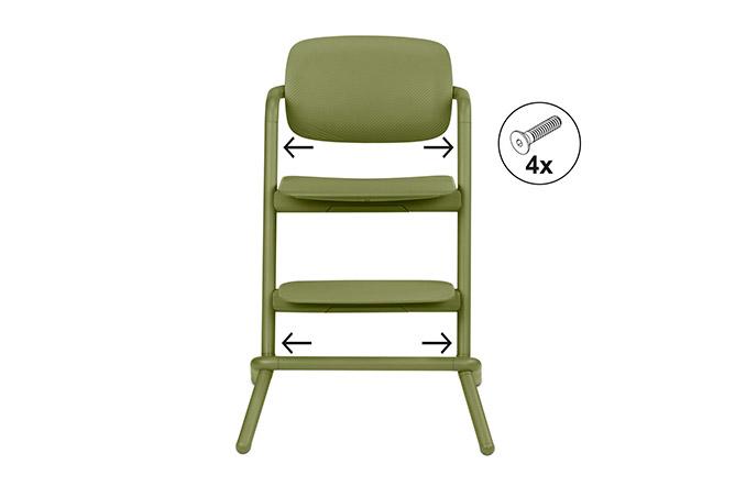 Lemo Chair Easy Assembly