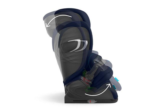 Pallas G i-Size Easy sleeping adjustment