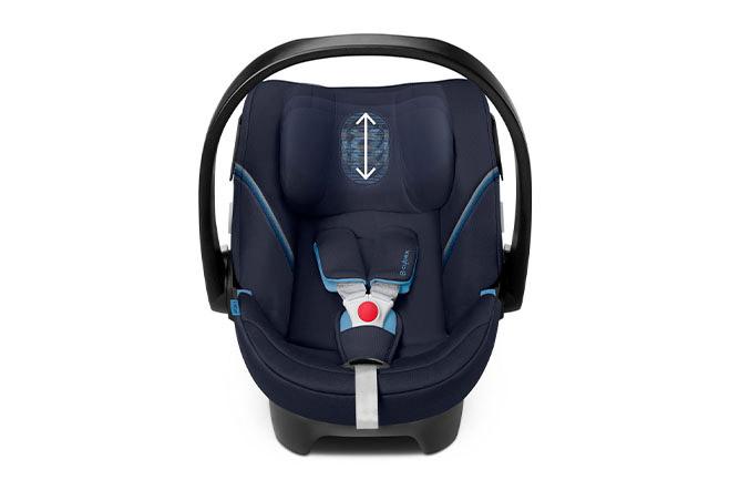 Aton 5 Height-adjustable headrest