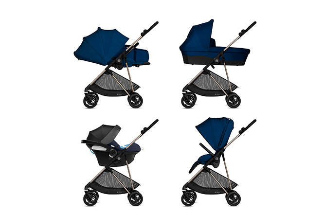 Melio 4-in-1 Travel System