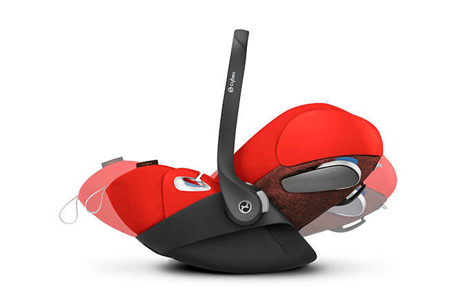 Cloud Z i-Size Ergonomic lie-flat position