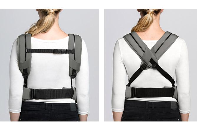 Yema Click Comfortably padded shoulder straps