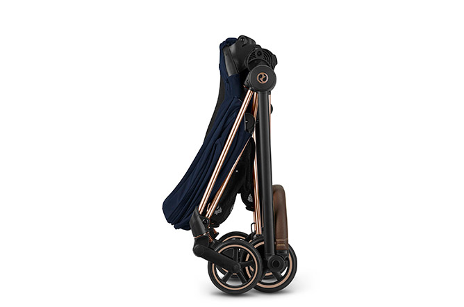 Mios Seat Pack One-hand folding mechanism