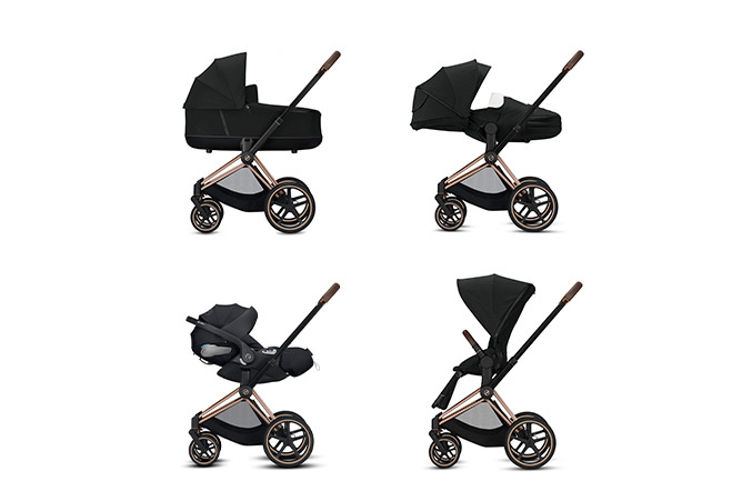 Priam JS Wings Frame 4-in-1 travel system