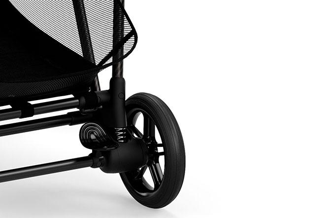 Melio 2 Carbon Wheel suspension