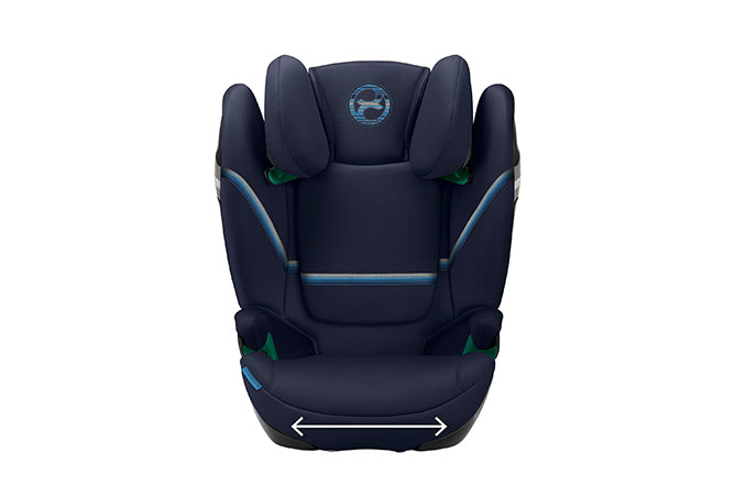 Solution S2 i-Fix Extra wide and deep seat cushion