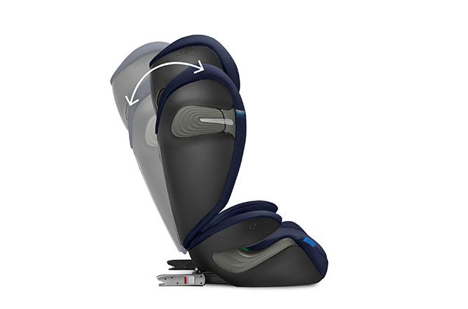 Solution S2 i-Fix Adjustable backrest