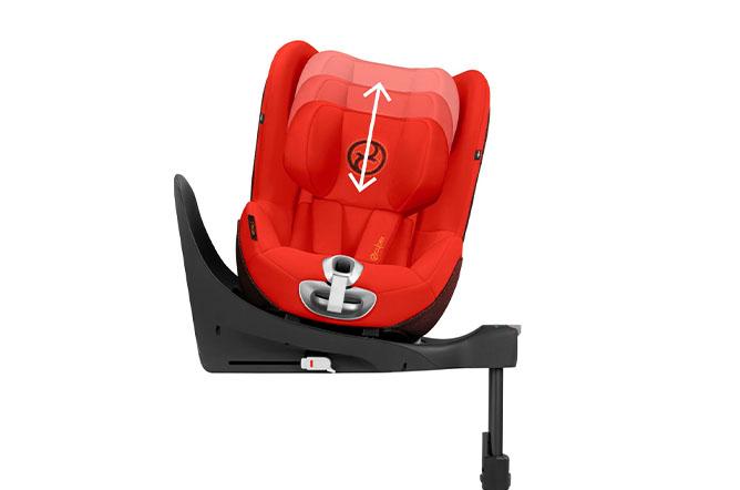 Sirona Z i-Size Height-adjustable headrest