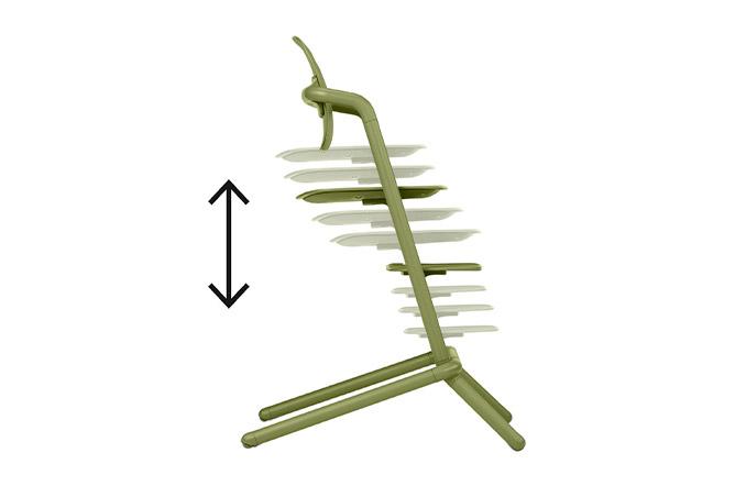Lemo Chair Individual height adjustment
