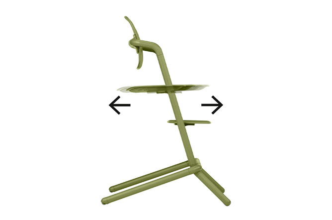 Lemo Chair Individual depth adjustment