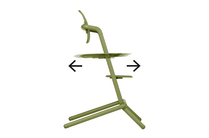 Lemo Chair Individual depth adjustment