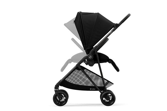 Melio 2 Carbon Reversible seat unit