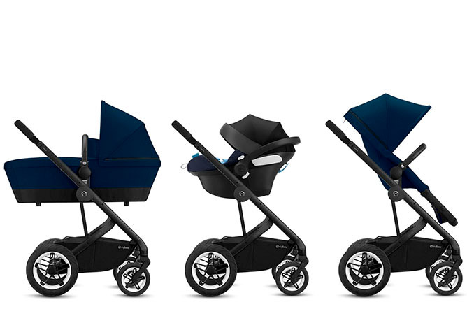 Talos S 2-in-1 Travel System