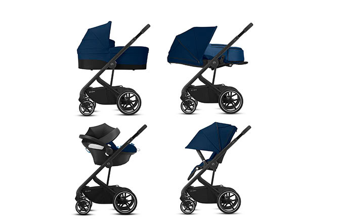 Balios S Lux 4-in-1 Travel System