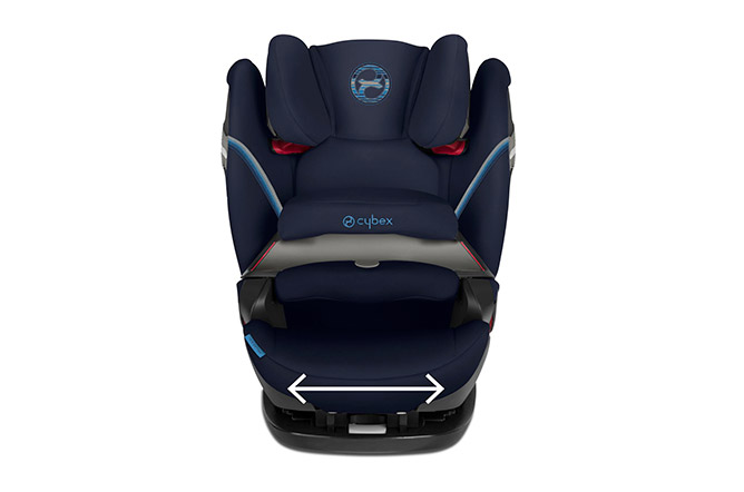 Pallas S-fix Extra-wide seat cushion