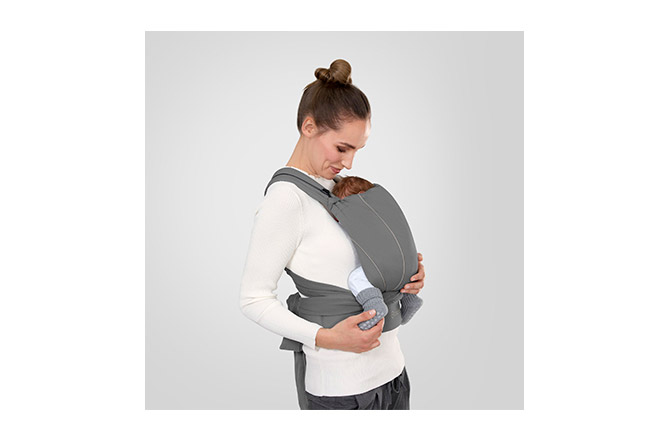 Maira Tie Healthy carrying from newborn to toddler (approx. 3.5 – 15 kg)