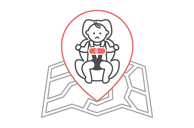 SensorSafe Kit Infant Child alone warning