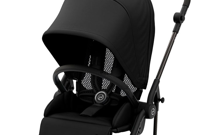 Melio 2 Carbon Breathability in backrest