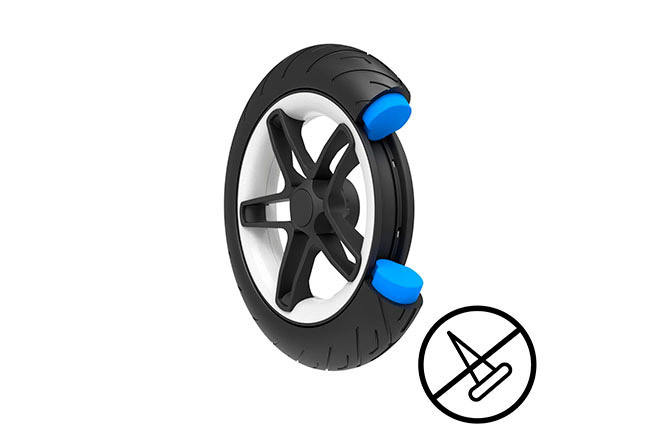 Talos S Lux Puncture-proof all-terrain wheels